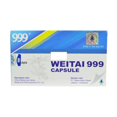 Saras Subur Abadi Weitai 999 Obat Herbal [12 Capsule]