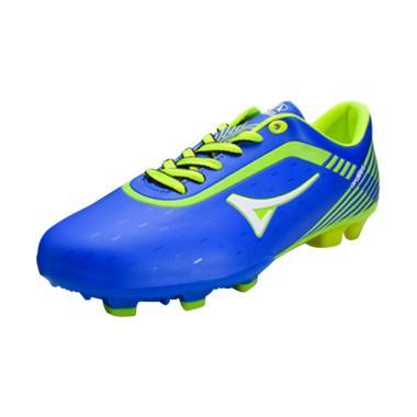 Ardiles Men Onix Sepatu Futsal - Biru Hijau Citroen