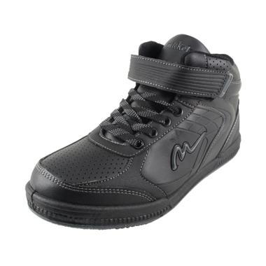 Ardiles Mickelson Super Casual Sepatu Sekolah Unisex - Hitam