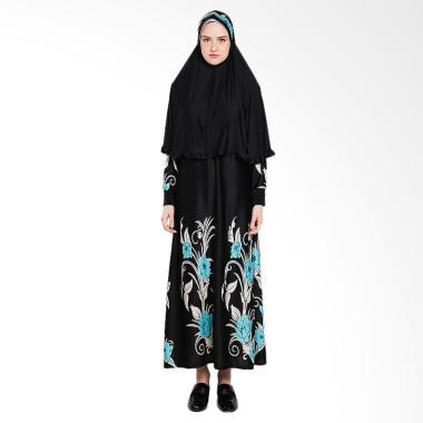 Koesoema Clothing Kalila Setelan Ga ... Jilbab - Black [All Size]
