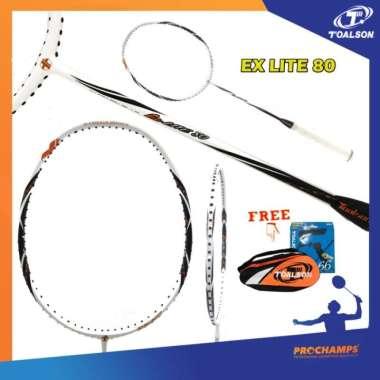 harga TOALSON EX LITE 80 RAKET BADMINTON ORIGNAL Multicolor - Blibli.com