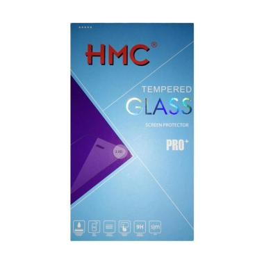 HMC Tempered Glass Screen Protector ... Hitam [2.5D/ Full Screen]