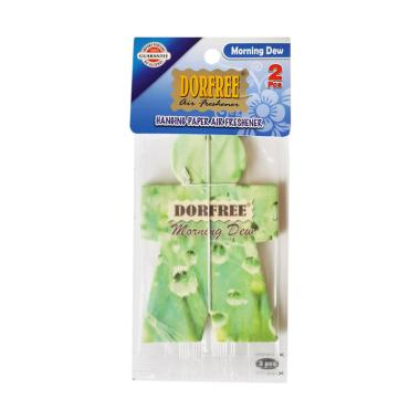 Dorfree Aroma Morning Dew Hanging Paper Air Freshener