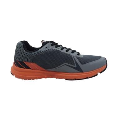 Eagle Thunderbolt Sepatu Lari Pria - Grey Orange