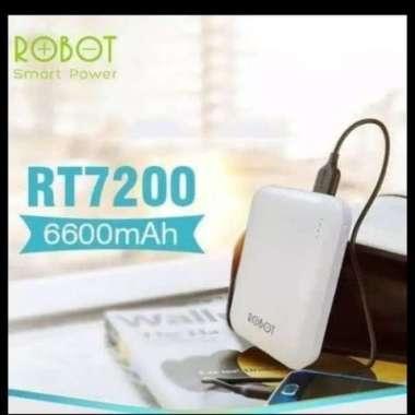Promo powerbank robot RT7200 6.600mah original garansi resmi 1thn Limited