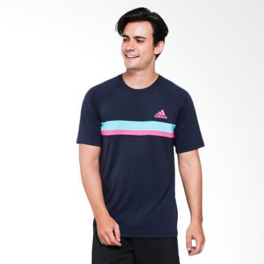 adidas Men Tennis Club Tee Kaos Olahraga Pria [D93123]