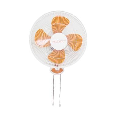 Trisonic Wall Fan Kipas Angin - Orange [16 Inch]