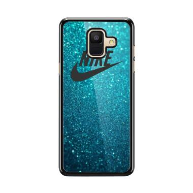 Acc Hp Nike Teal Blue S0086 Custom Casing For Samsung A6