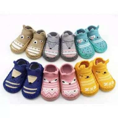 harga Sepatu Anak Bayi Anti Slip / Baby Socks Shoes / Sepatu Baby / Kaos Kaki / Bayi Sepatu Bayi Prewalker Anti Slip COKLAT 0-12 bulan Blibli.com