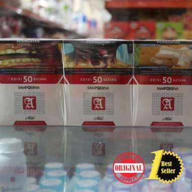 Sampoerna A Mild 50 Btg / Rokok Sampoerna Mild isi 50 batang / 1 slop 10 pack