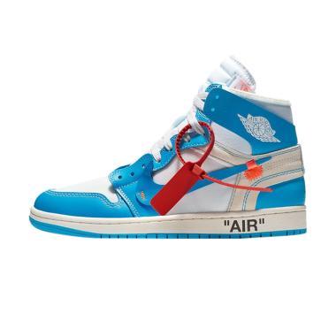 NIKE Men Air Jordan 1 University Sepatu Sneakers ... e75a69fe87