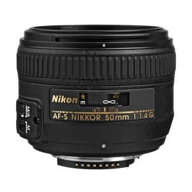 Nikon AFS 50mm f/1.4 G Lensa Kamera