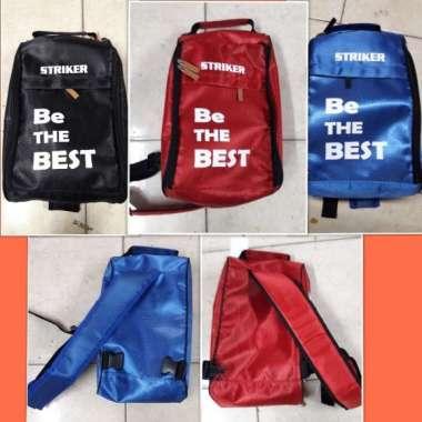 harga Tas sepatu olahraga futsal sepak bola basket STRIKER ORIGINAL 100 % Multicolor Blibli.com