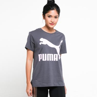 Puma Women Classics Logo Tee Pakaian Olahraga Wanita  576242 14  44cbab3e1e