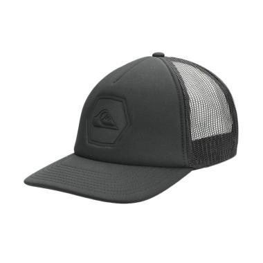 Quiksilver Pressington Headwear Anthracite Topi Pria