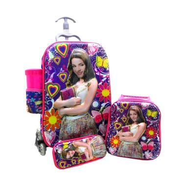DJ Fashion 0670 6D 4in1 Tas Trolley Anak