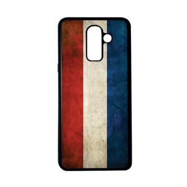 harga HEAVENCASE Motif Bendera Belanda 15 Casing for Samsung Galaxy J8 - Hitam Blibli.com