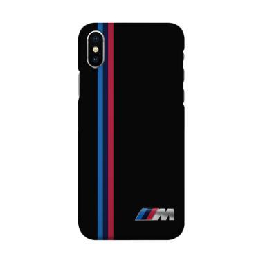 harga Indocustomcase BMW Logo Stripes 2 Cover Hardcase Casing for iPhone X Blibli.com