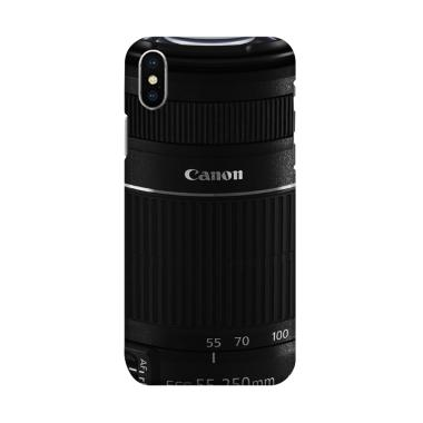Indocustomcase Camera Canon DSLR Le ... dcase Casing for iPhone X