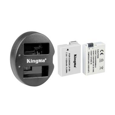 Kingma Paket Complete Battery Charg ... Canon 550D 600D 650D 700D