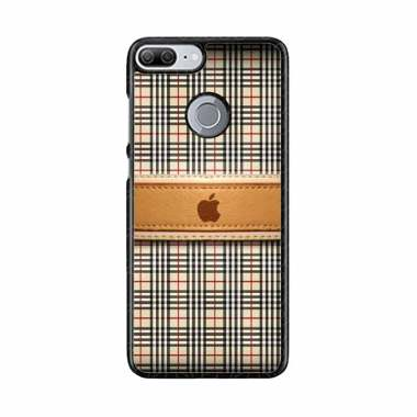 Acc Hp Burberry Apple L1306 Custome Casing for Honor 9 Lite