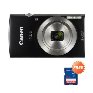 Canon IXUS 185 Kamera Pocket + Free Memory SDHC 8GB