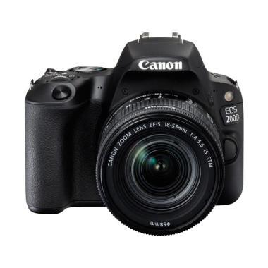 Canon 200D KIT 18-55 IS STM Kamera DSLR - Black