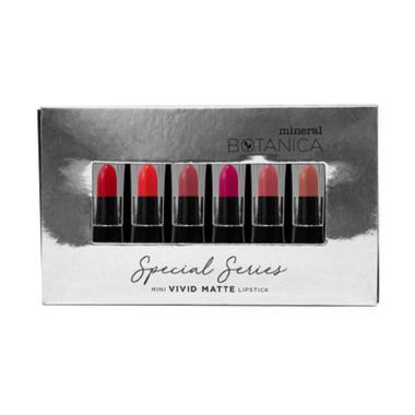 Mineral Botanica Special Series Mini Vivid Matte Lipstick [Paket B]