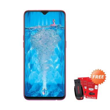 harga Oppo F9 Pro Smartphone [64GB/6GB] + Free Flashdisk Sandisk 16 GB Blibli.com