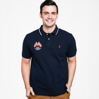 POLO RALPH LAUREN Custom Fit Polo Shirt Pria [PX14000]
