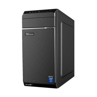 Intel PC Rakitan - Hitam [Intel Core i3/CPU Core i3/ DDR 4GB/ HDD 500]