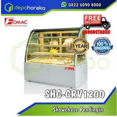 Showcase Pendingin Cake SHC-CRV1200 Double Arc showcase FOMAC