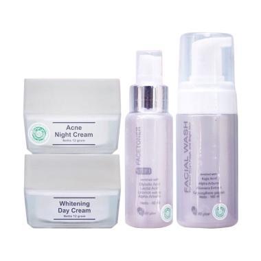 MS Glow Acne Series Paket Perawatan Wajah