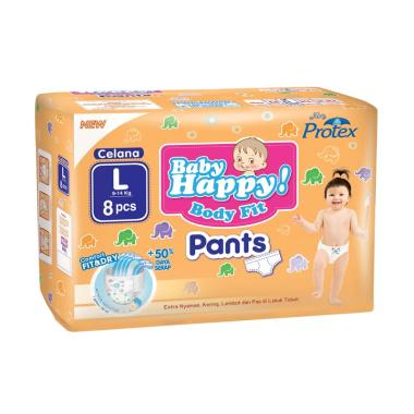 Baby Happy Diapers Pants L8