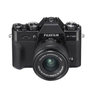 harga Fujifilm X-T20 Kit 15-45mm Kamera Mirrorless Black Free NP-W126s, Athabasca Filter - Braga Photo Video Blibli.com