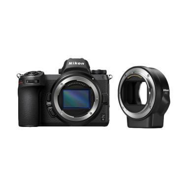 NIKON Z6 body + FTZ Kamera Mirorless Free Nikon Z T-Shirt, Voucher Z Lens (Rp 3.000.000) - Braga Photo & Video