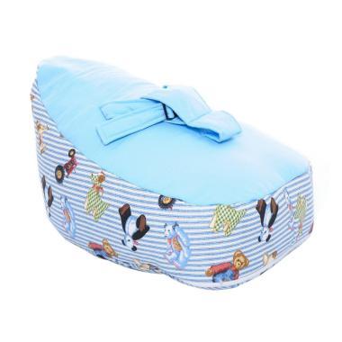 Bylio Baby Beanbag Sofa Bayi - Motif Panda Blue