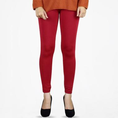 harga EFAEF OUTFIT Spandek Premium Celana Legging Panjang Wanita - Merah Blibli.com