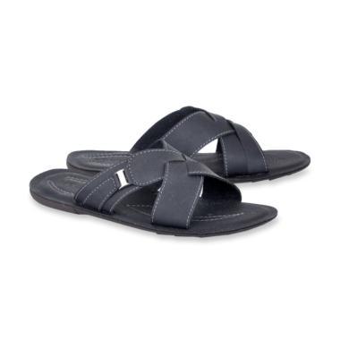 Spiccato Kasual Sandal Pria - Black [BS 511.10]