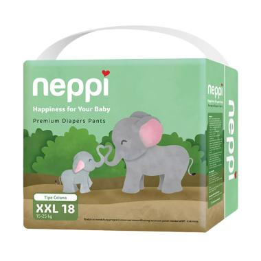 Neppi Premium Diaper Pants [Size XXL/ 18 pcs]
