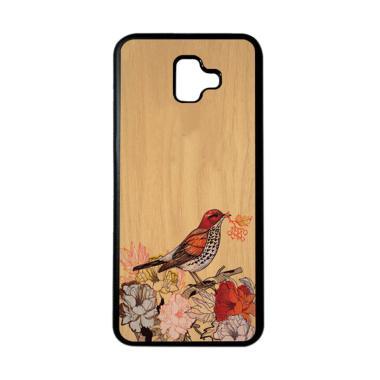 harga HEAVENCASE Motif Burung Bird 05 Softcase Casing for Samsung J6 Plus - Hitam Blibli.com