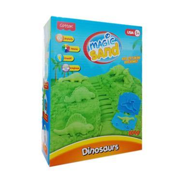Cotton Magic Sand Dinosaurus Mainan Pasir Kinetik