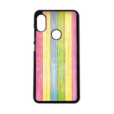 harga CARSTENEZIO Motif Kayu Wood 14 Casing for Xiaomi Redmi Note 6 Pro - Hitam Blibli.com