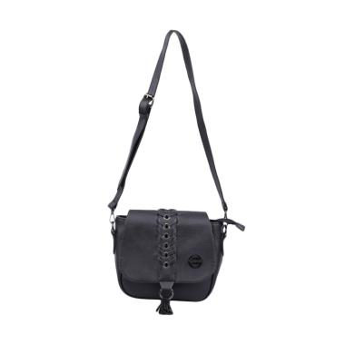 Catenzo RH059 Sling Bag Wanita - Black
