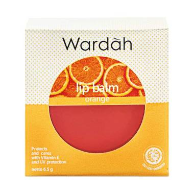 Wardah Lip Balm - Orange [6.5 g]