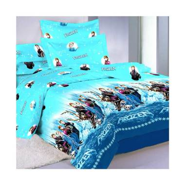 Belladona Frozen Set Sprei [Sarung Bantal 4 pcs]