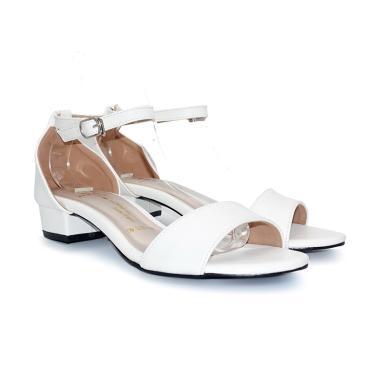 522ba5b5fc8 Polla Polly Eka White Sandal Heels Wanita