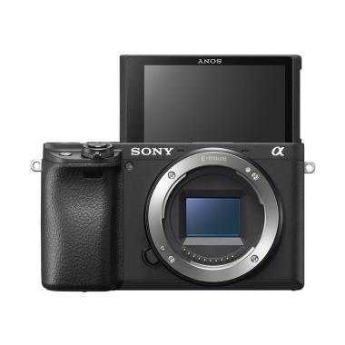 SONY Alpha a6400 ILCE-6400 Kamera Mirrorless - Hitam [Body Only] Hitam