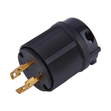 harga Bluelans Outdoor Power Locking L14-30P Industrial Twist-Lock Plug 30A 125V - 250V 4P 4W Blibli.com