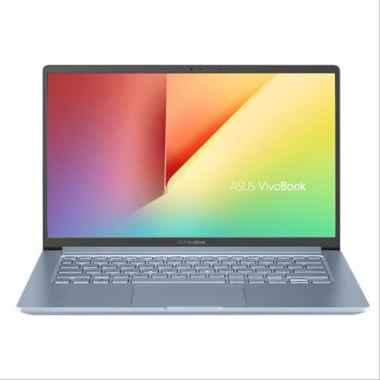 harga Asus VivoBook K403FA-EB501T Laptop - Silver Blue [i5-8265U/ 8GB/ 512GB SSD/ Intel UHD 620/ Fingerprint/ 14